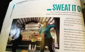 FNSports featured in Cayman Airways Skies Magazine