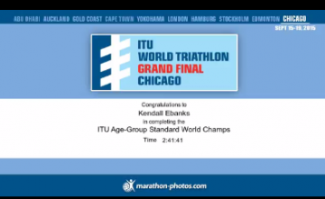 Kendall Ebanks Finishes ITU WTS Finals -Chicago 2015